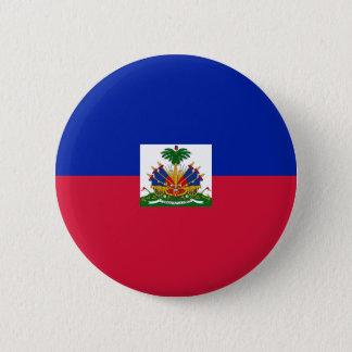 Bóton Redondo 5.08cm Baixo custo! Bandeira de Haiti