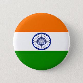Bóton Redondo 5.08cm Baixo custo! Bandeira de India