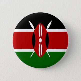 Bóton Redondo 5.08cm Baixo custo! Bandeira de Kenya