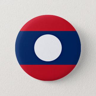 Bóton Redondo 5.08cm Baixo custo! Bandeira de Laos