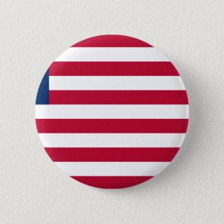 Bóton Redondo 5.08cm Baixo custo! Bandeira de Liberia