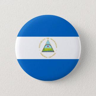 Bóton Redondo 5.08cm Baixo custo! Bandeira de Nicarágua