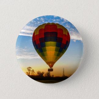 Bóton Redondo 5.08cm Balão de ar quente