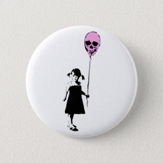 Bóton Redondo 5.08cm Balloon Girl