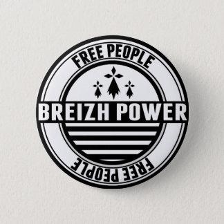 Bóton Redondo 5.08cm bandeira Breizh Bretanha Bretão free celebridades
