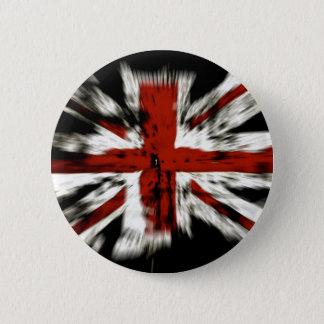 Bóton Redondo 5.08cm Bandeira britânica