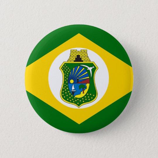 Bóton Redondo 5.08cm Bandeira Ceará Brasil