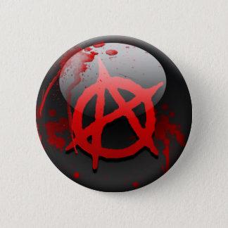 Bóton Redondo 5.08cm Bandeira da anarquia