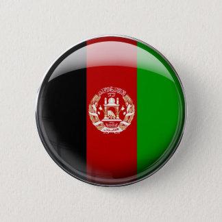 Bóton Redondo 5.08cm Bandeira de Afeganistão
