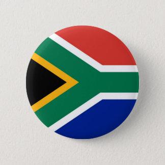 Bóton Redondo 5.08cm Bandeira de África do Sul no Pin/crachá do botão