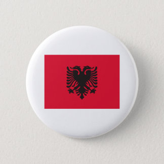 Bóton Redondo 5.08cm Bandeira de Albânia