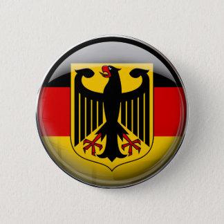 Bóton Redondo 5.08cm Bandeira de Alemanha
