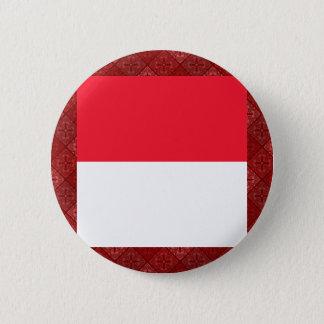 Bóton Redondo 5.08cm Bandeira de alta qualidade de Monaco