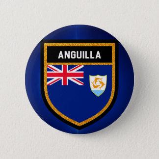 Bóton Redondo 5.08cm Bandeira de Anguilla