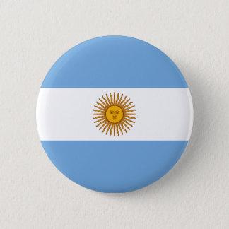 Bóton Redondo 5.08cm Bandeira de Argentina
