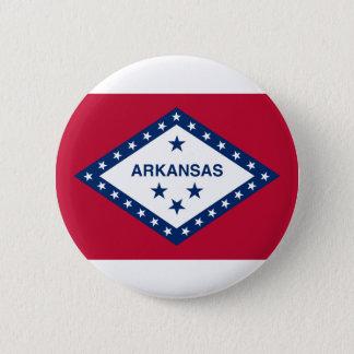 Bóton Redondo 5.08cm Bandeira de Arkansas