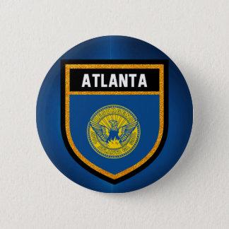 Bóton Redondo 5.08cm Bandeira de Atlanta