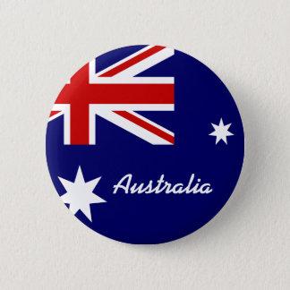 Bóton Redondo 5.08cm Bandeira de Austrália