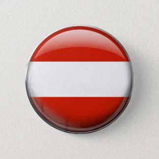 Bóton Redondo 5.08cm Bandeira de Áustria