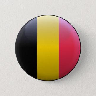 Bóton Redondo 5.08cm Bandeira de Bélgica