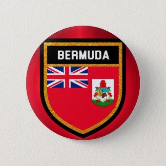 Bóton Redondo 5.08cm Bandeira de Bermuda