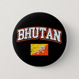 Bóton Redondo 5.08cm Bandeira de Bhutan