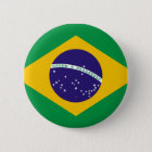 Bóton Redondo 5.08cm Bandeira de Brasil