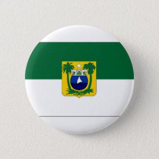 Bóton Redondo 5.08cm Bandeira de Brasil o Rio Grande do Norte