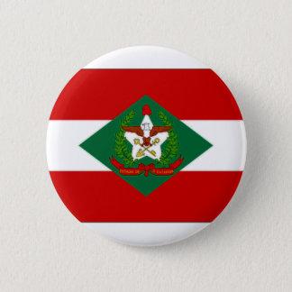 Bóton Redondo 5.08cm Bandeira de Brasil Santa Catarina