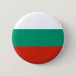 Bóton Redondo 5.08cm Bandeira de Bulgária ou de búlgaro