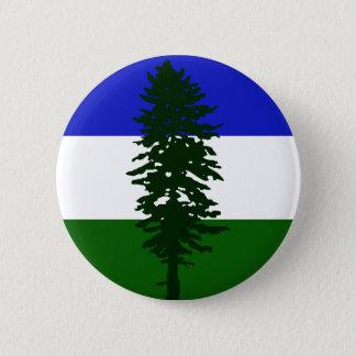 Bóton Redondo 5.08cm Bandeira de Cascadia