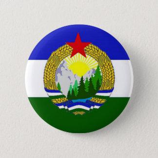 Bóton Redondo 5.08cm Bandeira de Cascadia socialista