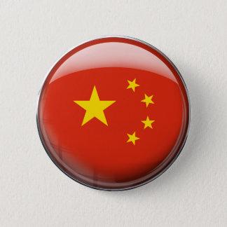 Bóton Redondo 5.08cm Bandeira de China