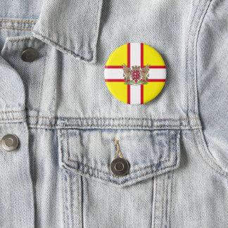 Bóton Redondo 5.08cm Bandeira de Dorset