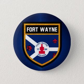 Bóton Redondo 5.08cm Bandeira de Fort Wayne