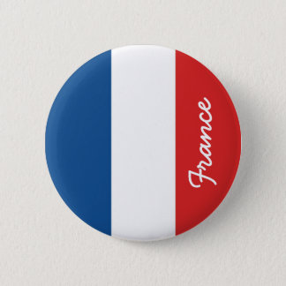 Bóton Redondo 5.08cm Bandeira de France