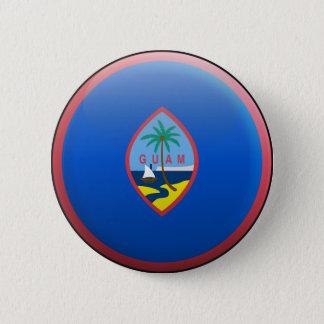 Bóton Redondo 5.08cm Bandeira de Guam