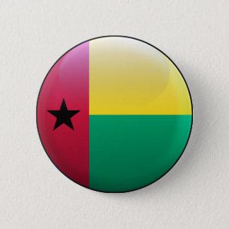 Bóton Redondo 5.08cm Bandeira de Guiné-Bissau