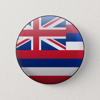 Bóton Redondo 5.08cm Bandeira de Havaí