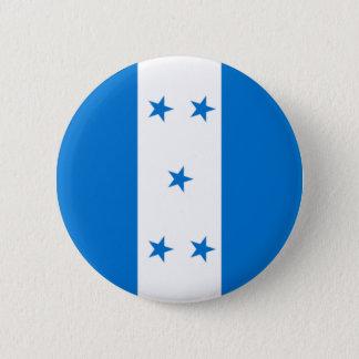 Bóton Redondo 5.08cm Bandeira de Honduras - bandera Hondureña de