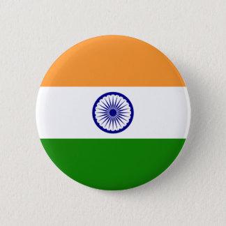 Bóton Redondo 5.08cm Bandeira de India