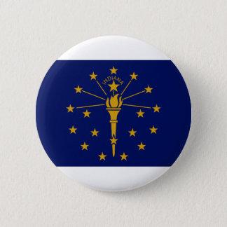 Bóton Redondo 5.08cm Bandeira de Indiana