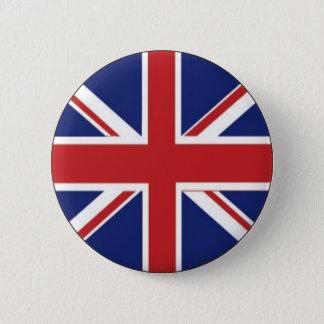 Bóton Redondo 5.08cm Bandeira de Inglaterra