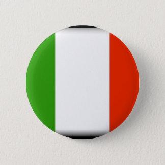 Bóton Redondo 5.08cm Bandeira de Italia