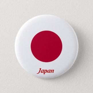 Bóton Redondo 5.08cm Bandeira de Japão