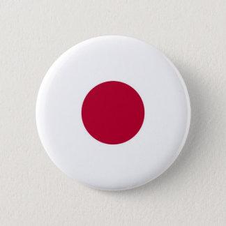 Bóton Redondo 5.08cm Bandeira de Japão no Pin/crachá do botão