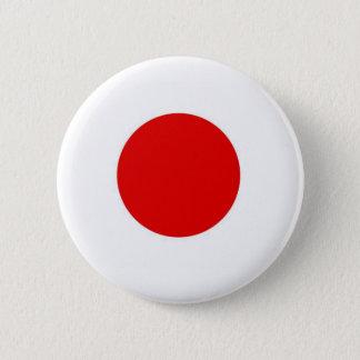 Bóton Redondo 5.08cm Bandeira de Japão Sun