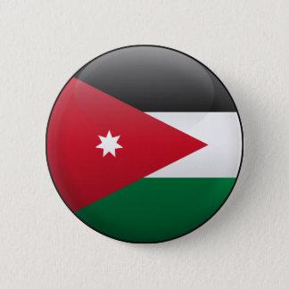 Bóton Redondo 5.08cm Bandeira de Jordão