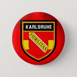 Bóton Redondo 5.08cm Bandeira de Karlsruhe