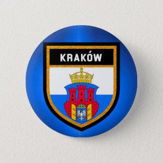 Bóton Redondo 5.08cm Bandeira de Kraków